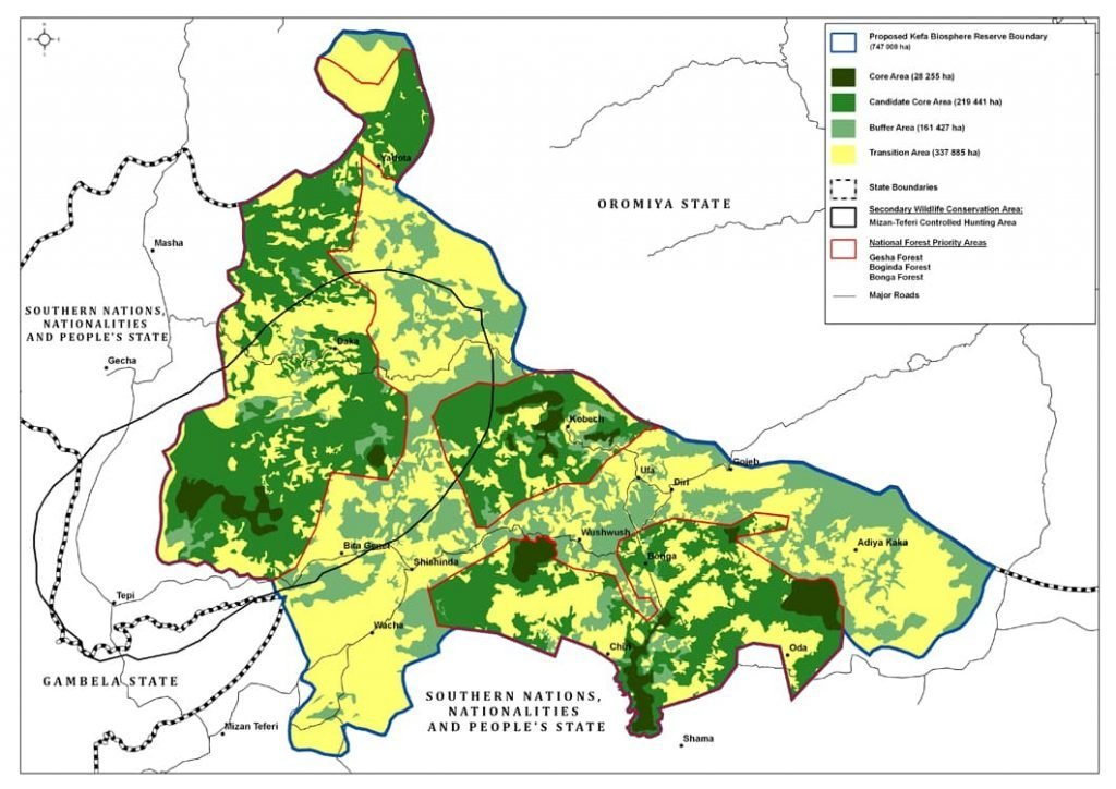 ETHIOPIA Kaffa Biosphere Reserve Plan