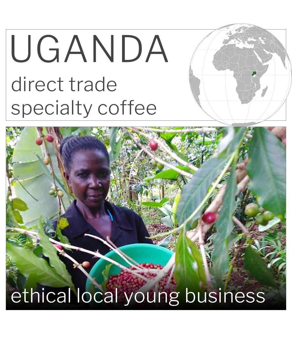 UGANDA, Mt. Elgon, Washed Coffee